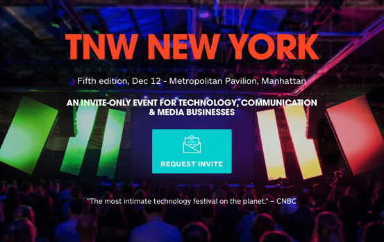 Meet Giant Leap Lab in NYC on TNW conference!