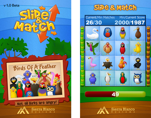 Slide & Match Game Design
