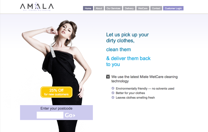 Amala Clean — clothes cleaning service
